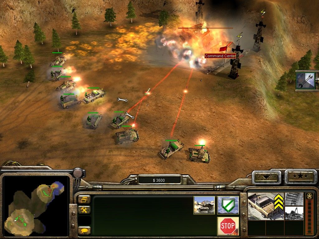 That Game Was Command And Conquer Generals It Took The Series Firmly Into 3D While Bringing In Various Additions Changes To Established RTS