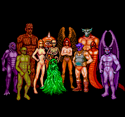 The twelve tribes of monsters that make up your parties.