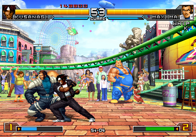 kof 2002 unlimited match ps2