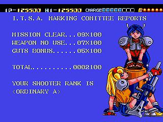 [Análise Retro Game] - Battle Mania Daiginjou Trouble Shooter Vintage - Mega Drive Daigin15
