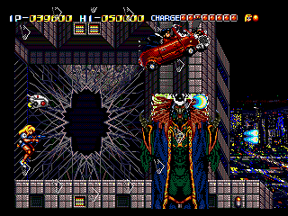 [Análise Retro Game] - Battle Mania Daiginjou Trouble Shooter Vintage - Mega Drive Daigin2
