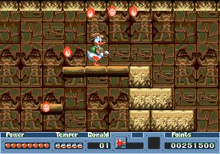 [Análise Retro Game] - QuackShot estrelando Pato Donald - Mega Drive Qs-37